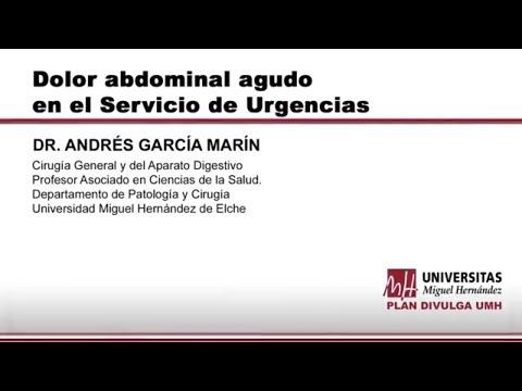 DOLOR ABDOMINAL AGUDO EN EL SERVICIO DE URGENCIAS
