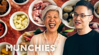 Watch a Michelin Star Chef Cook With His Aunt by Munchies