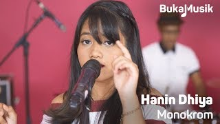 Hanin Dhiya - Monokrom (Tulus Cover With Lyrics) | BukaMusik