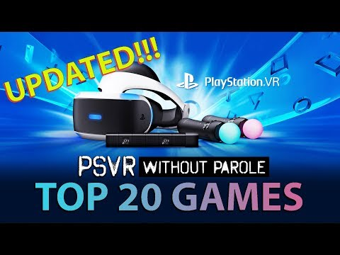 Top 20 PlayStation VR Games | September 27, 2018