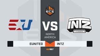 eUnited vs INTZ, map 2 cache, ECS Season 7 North America