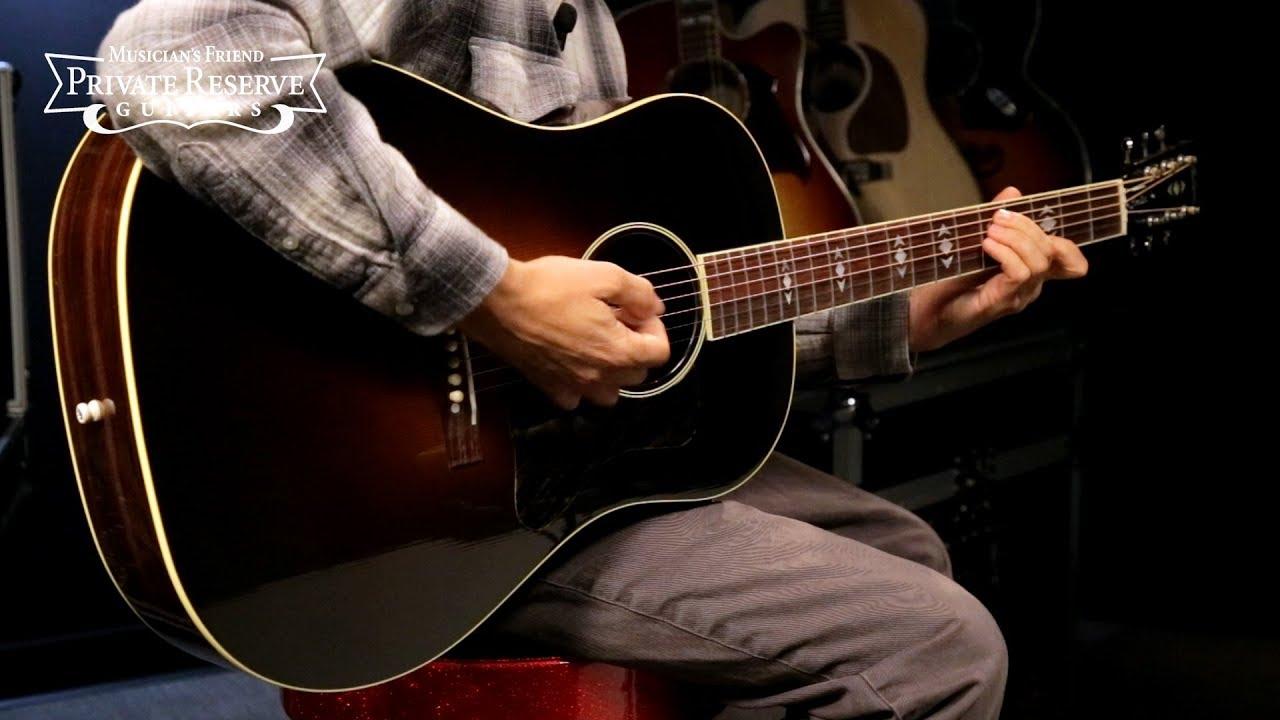 Gibson Limited Run Advanced Jumbo Vintage Mystic Acoustic Guitar