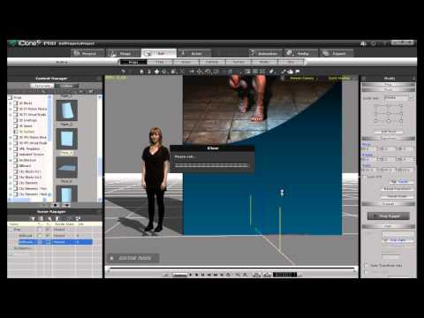 iClone5 Edu Tutorial – Virtual Newsroom