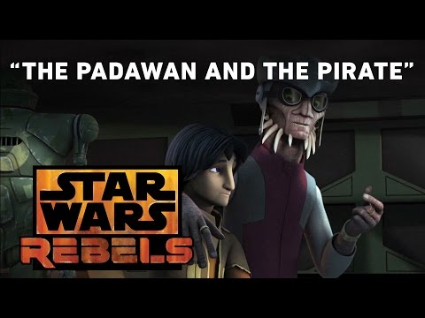 Star Wars Rebels 2.06 (Clip 'The Padawan and the Pirate')