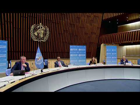 WHO holds a briefing after global coronavirus deaths hit 900,000