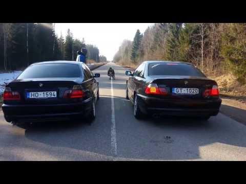 BMW e46 330d vs 330cd