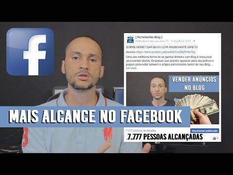 UM SEGREDO P/ TER MAIOR ALCANCE NO FACEBOOK