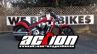 3. 2013 Honda Fury (VT1300CX) ABS
