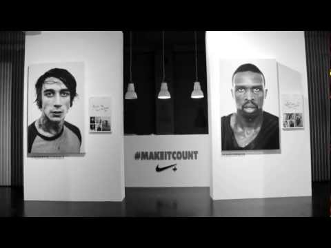 Nike 1948 London   #MakeItCount Exhibition Opening Party | Event Recap