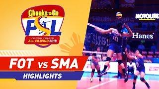 Highlights: Foton vs. Smart | PSL All-Filipino Conference 2018