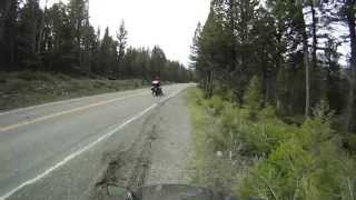 3. Yellowstone Bike Trip Yamaha FJR1300 - 2012
