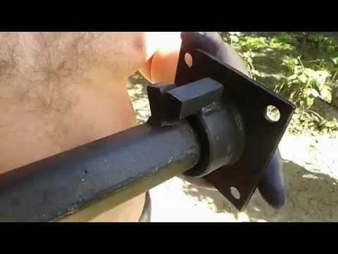 Как сделать удлинители для мотоблока