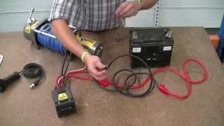"""How to wire a 12V winch - Sherpa 4x4 """"The Colt"""""""