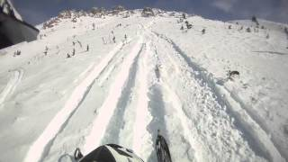 9. 2008 Arctic Cat M8 153 / Quartz Creek 2013