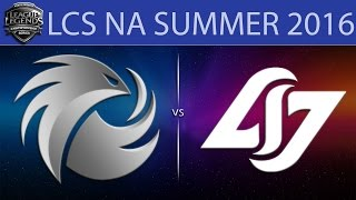 Phoenix vs CLG, game 1