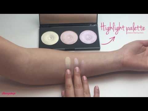 Makeup Revolution Makeup Revolution Highlighter Palette Highlight