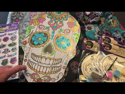 Sugar Skulls at Dollar Tree: Gift Closet Series