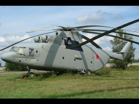 Russian Mi-26 multi-purpose transport...