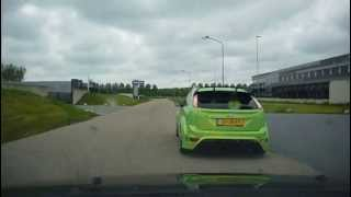 In Pursuit of a Ford Focus RS With a Focus ST 3 launch control start
