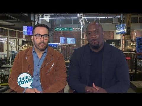 "Jeremy Piven & Richard T. Jones star in new CBS Drama ""Wisdom of the Crowd"""