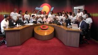 Lotería Nacional dona 400 Mil pesos en #RadioMaratonZol amigos contra el cáncer