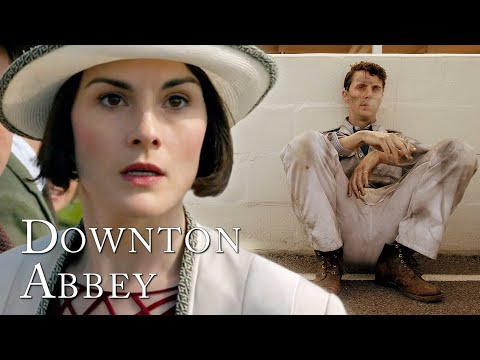Henry Talbot's Car Crash! | Downton Abbey