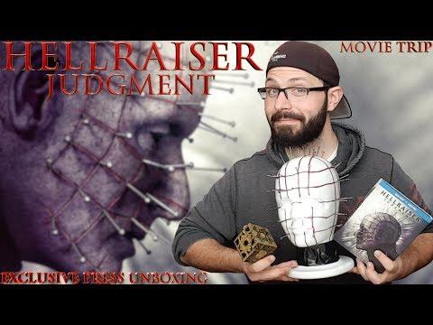 Hellraiser Judgment (Exclusive Pinhead) Bluray Unboxing + Movie Trip Vlog | BLURAY DAN