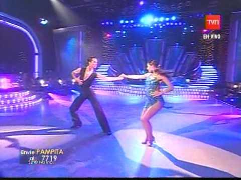 Rocío Guirao Díaz bailando en el tubo
