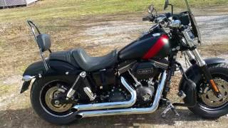 5. 2016 Harley Fat Bob Updates and Startup