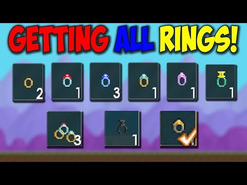 Growtopia  GETTING ALL RINGS! INSANE EFFECT