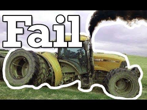 Funny tractor crashes [2014] farm fails