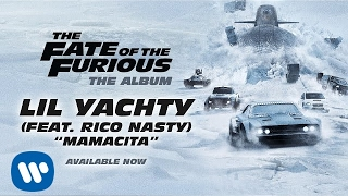 """The Fate of the Furious: The Album is available now - https://atlantic.lnk.to/f8/Lil Yachty – Mamacita (feat. Rico Nasty) (The Fate of the Furious: The Album) [OFFICIAL AUDIO] THE FATE OF THE FURIOUS: THE ALBUM TRACK LISTING1) Young Thug, 2 Chainz, Wiz Khalifa & PnB Rock - Gang Up2) Lil Uzi Vert, Quavo & Travis Scott - Go Off3) G-Eazy & Kehlani - Good Life4) PnB Rock, Kodak Black & A Boogie Wit da Hoodie – Horses5) Migos - Seize The Block6) YoungBoy Never Broke Again – Murder (feat. 21 Savage) [Remix]7) Bassnectar – Speakerbox (feat. Ohana Bam & Lafa Taylor) [F8 Remix]8) Post Malone - Candy Paint9) Kevin Gates - 91110) Lil Yachty – Mamacita (feat. Rico Nasty)11) Jeremih, Ty Dolla $ign & Sage The Gemini - Don't Get Much Better12) Pitbull & J Balvin - Hey Ma (feat. Camila Cabello) [Spanish Version]13) Pinto """"Wahin"""" & DJ Ricky Luna - La Habana (feat. El Taiger)14) J Balvin & Pitbull - Hey Ma (feat. Camila Cabello) Follow The Fate of the Furious:twitter.com/fastfuriousinstagram.com/fastandfuriousmoviewww.facebook.com/FastandFurious/www.fastandfurious.com/ Follow Lil Yachty:https://twitter.com/lilyachtyhttps://www.instagram.com/lilyachtyhttps://www.facebook.com/lilyachtysailingteamhttps://www.lilyachty.com/ Follow Rico Nasty:https://twitter.com/rico_nastyyhttps://www.instagram.com/rico__nasty"""