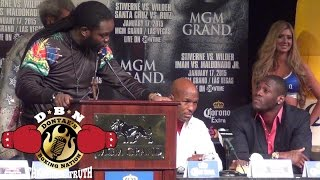 Best 2015 Fight Press Conference Wilder vs Stiverne