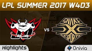 JDG vs SS Highlights Game 1 LPL SUMMER 2017 JD Gaming vs Snake by Onivia Make money with your LoL knowledge...
