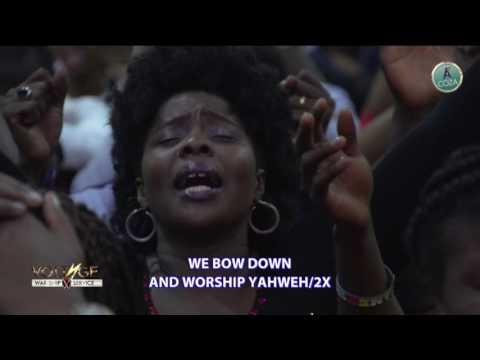 Minister Tope Alabi Leads Worship #COZAVoltageWar-shipServiceWithDjErnesty&MinisterTopeAlabi