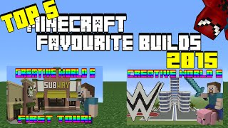 My TOP 5 FAVOURITE BUILDS of 2015!