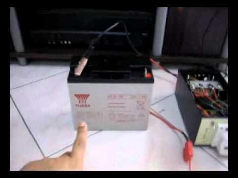 12V to 230V Inverter 500watt prototype.wmv