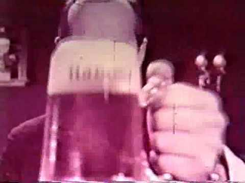 Vintage Hamms Beer bear TV Commercial