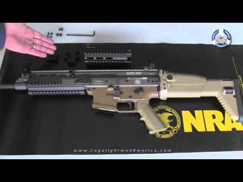 GUN GARAGE: FN SCAR fore end extension install