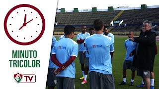 O elenco tricolor conheceu na tarde desta terça-feira, em Quito (início da noite no Brasil), o palco da partida contra a Universidad Catolica, que vale uma vaga na Terceira Fase da Copa Sul-Americana e acontecerá nesta quarta-feira, às 17h15 (19h15 de Brasília).