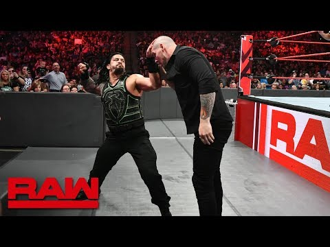 Roman Reigns Vs. Constable Baron Corbin: Raw, Aug. 6, 2018