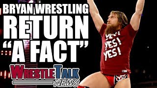 """Daniel Bryan wrestling return 'a fact', Ric Flair update and more in this WrestleTalk News Aug. 2017...Subscribe to WrestleTalk for daily WWE and wrestling news! https://goo.gl/WfYA12Support WrestleTalk on Patreon here! http://goo.gl/2yuJpoSubscribe to WrestleTalk's WRESTLERAMBLE PODCAST on iTunes - https://goo.gl/7advjXRic Flair in critical condition, Dave Meltzer's NJPW G-1 Climax star ratings, via Wrestling Observer Newsletter - http://members.f4wonline.com/wrestling-observer-newsletter/august-21-2017-wrestling-observer-newsletter-ric-flair-criticalDaniel Bryan """"working on"""" a wrestling return, via Sports Illustrated - https://www.si.com/extra-mustard/2017/06/20/daniel-bryan-wwe-cm-punk-the-mizDaniel Bryan """"rushed"""" into retirement by Vince McMahon, via Wrestling Observer Newsletter - http://members.f4wonline.com/wrestling-observer-newsletter/march-13-2017-wrestling-observer-newsletter-wwe-fastlane-reviewBrie Bella says Daniel Bryan wrestling return is """"a fact"""", via From The Top Rope podcast - https://itunes.apple.com/us/podcast/from-the-top-rope/id1247526507?mt=2Brie Bella says Daniel Bryan wrestling return is """"a fact"""", via Pro Wrestling Sheet - http://www.prowrestlingsheet.com/daniel-bryan-wrestling-return-brie-bella-treatment/#.WZV-PneGO8qRic Flair in critical condition, via TMZ Sports - http://www.tmz.com/2017/08/16/ric-flairs-fiancee-medical-update-multiple-organ-problems/Catch us on Facebook at: http://www.facebook.com/WrestleTalkTVFollow us on Twitter at: http://www.twitter.com/WrestleTalk_TV"""