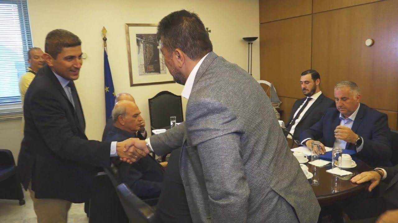Συνάντηση Λ.Αυγενάκη με φορείς για την αντιμετώπιση της βίας