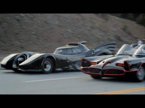 Batmobile vs. Batmobile