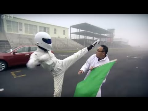 Top Gear Stig - The Stig's chinese cousin puts the GAC Trumpchi and the Roewe 350 through it's paces. Later James and Jeremy test the cars safety and discuss their finer poi...