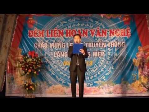 Liên hoan văn nghệ chào mừng lễ hội truyền thống Làng Thượng Hiệp năm 2013 (P1)
