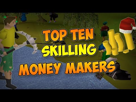 OSRS Top Ten Skilling Money Makers (видео)