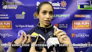 #CLVolleyW. Imoco Volley Conegliano - Telekom Bacu.
