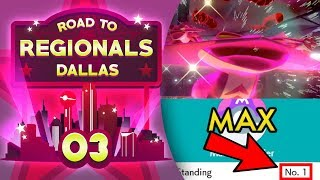 The #1 Ranked Player! Road to Regionals - Dallas! Pokemon Sword and Shield VGC by aDrive