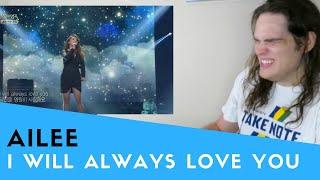Video Voice Teacher Reacts to Ailee - I Will Always Love You 불후의 명곡2.20140412 MP3, 3GP, MP4, WEBM, AVI, FLV Oktober 2018